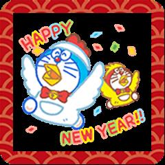 Doraemon's New Year's Gift Stickers
