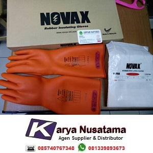 Jual Electrical 20.000Volt Novax Electrical Gloves di Surabaya