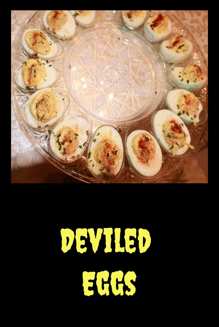 What better way to use up hard boiled eggs for an appetizer than deviled eggs these are creamy smooth hard boiled eggs with spice and a great use of Easter colored eggs