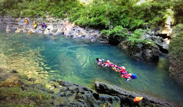 Serunya-Body-Rafting-di-Green-Canyon-Pangandaran