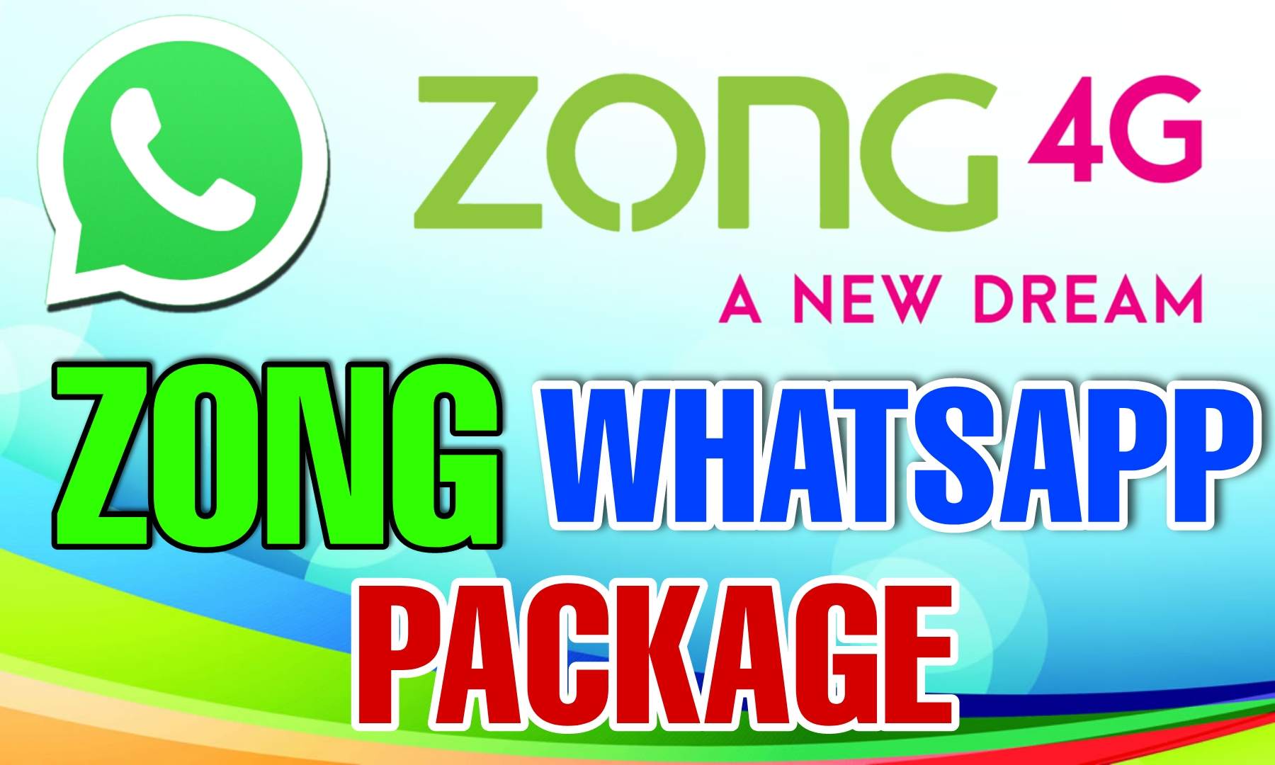 ZONG WHATSAPP PACKAGE MONTHLY CODE