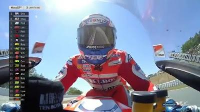 Dovi Menang di GP Catalunya, Lorenzo Kalahkan Rossi