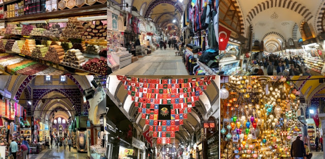 Grand Bazaar_Tempat wisata di Turki
