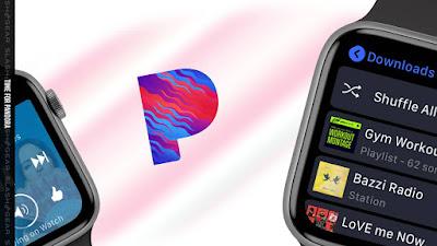 Novo aplicativo Pandora Apple Watch lançado com experiência sem iPhone