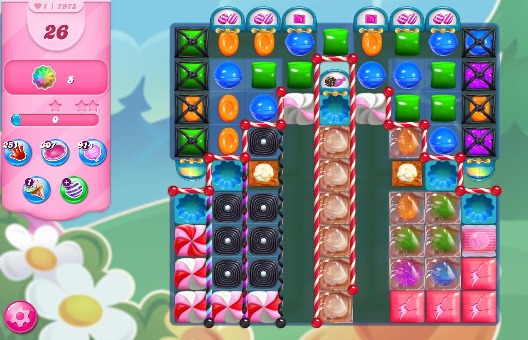 Candy Crush Saga level 7975