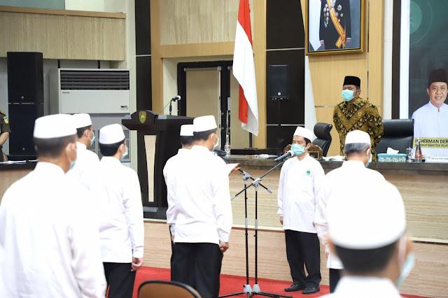 Gubernur Herman Deru Minta IPHI Himpun Seluruh Jamaah Haji Jaga Kemabruranya