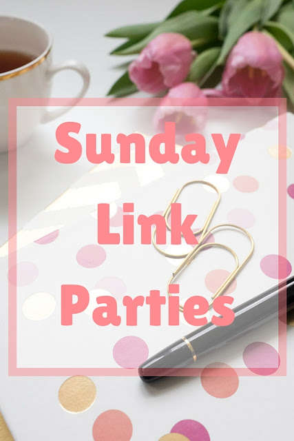 Sunday link parties