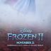 Frozen 2 já tem poster e data para novo trailer