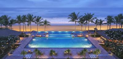 Source: Legian Seminyak, Bali website. View of the infinity pool.