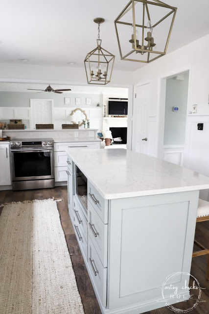 How to build a custom island with cabinets