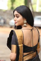 Poorna in Cute Backless Choli Saree Stunning Beauty at Avantika Movie platinum Disc Function ~  Exclusive 029.JPG