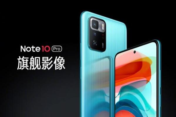 Redmi Note 10 Pro chinês veio com Dimensity 1100 e carregamento 67W