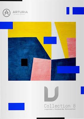 Cover do pacote de plugins Arturia - V Collection 8