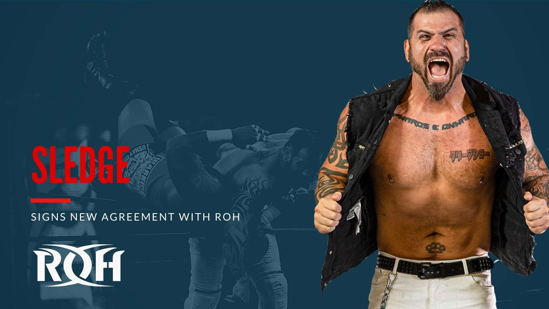 Sledge renova com a ROH