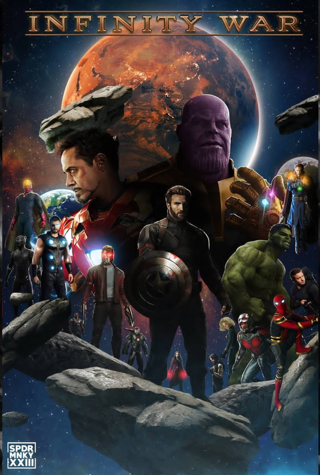 Avengers Infinity War 2018 Dual Audio And Hindi Only Full Movie