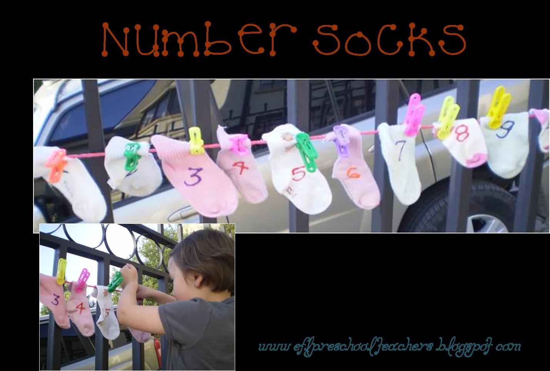 Esl Efl Preschool Teachers Numbers Teaching Resources For