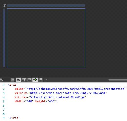 Working with Rows and Columns in XAML in Silverlight