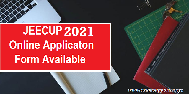UP Polytechnic Admission JEECUP 2021 Apply Online Form for UPJEE