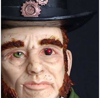 Sir Baron Theodore Wraith - Carla Rodrigues de Pepper Posh Sugar Artist