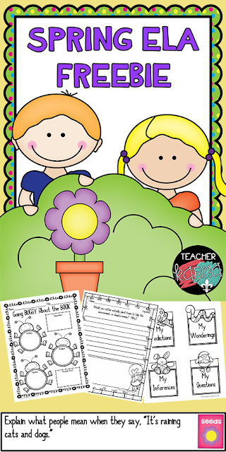 spring freebies teacherkarma.com