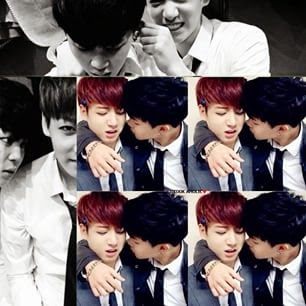 JiKook Bts Sweet Marry Couple Forever: 2015