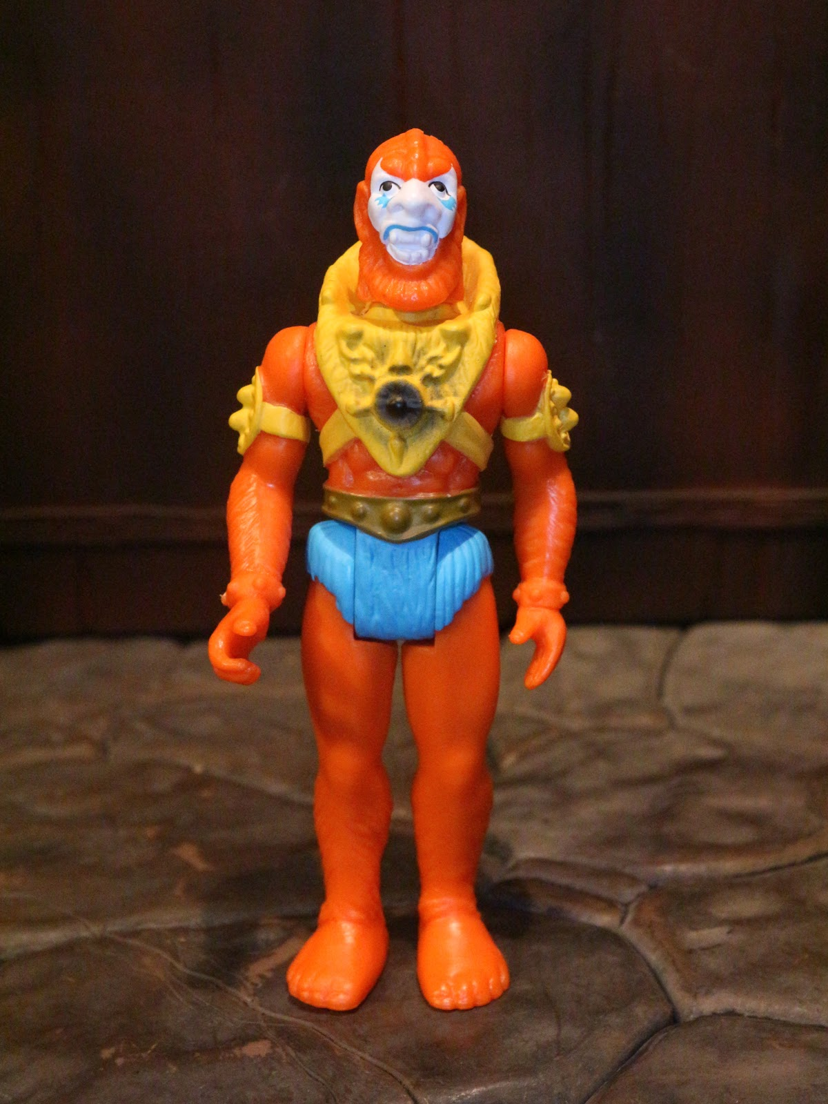 VINTAGE HeMan Beastman RED Armor Part//Piece MOTU Action Figure Accessory!!!