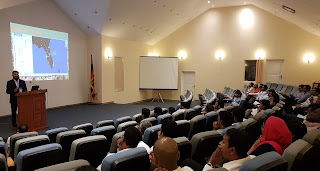 """Dr. Zeeshan-Ul-Hassan Usmani, Director at SAKS Analytics and world renowned data scientist speaks at a seminar on """"Data Driven Excellence"""" by SAKS Analytics."""