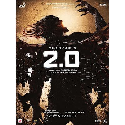 फिल्म '2.0' के लिए उत्साहित हुए उनके फैंस, पोस्टर है जबरदस्त