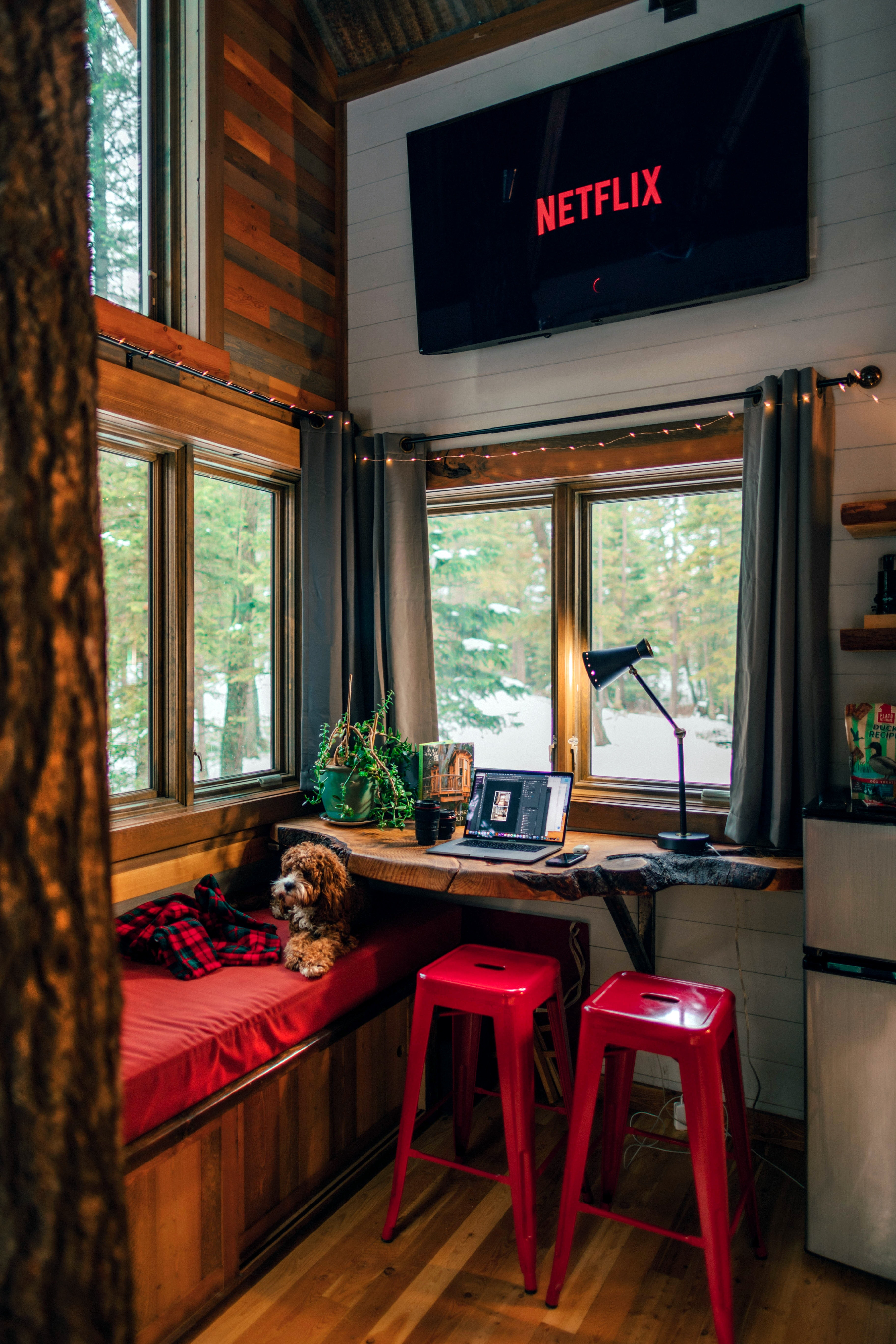 Maak van een blokhut de ideale plek om tot rust te komen 4 ideeën privé en werk