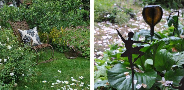 Eisendeko - Gartenstuhl