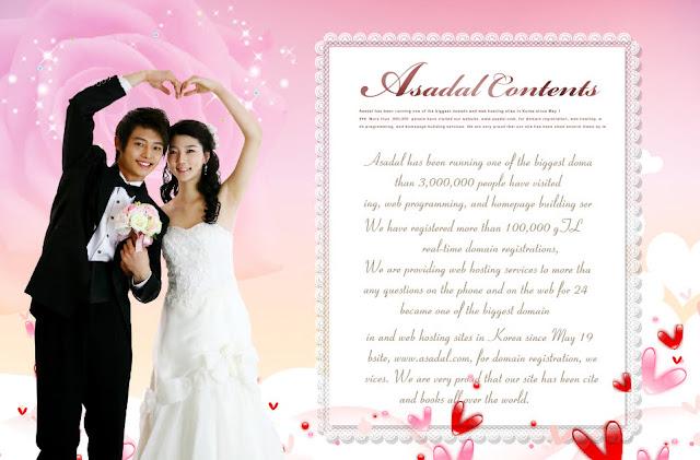 FREE PSD 2017 : The groom and bride telegram betrothal