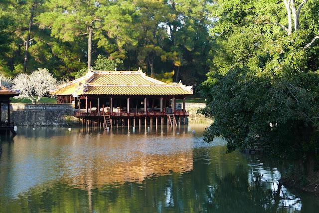 Visit Tu Duc Mausoleum in Hue