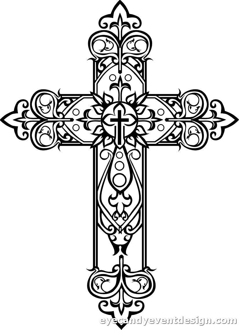 Jesus Am Kreuz Bild