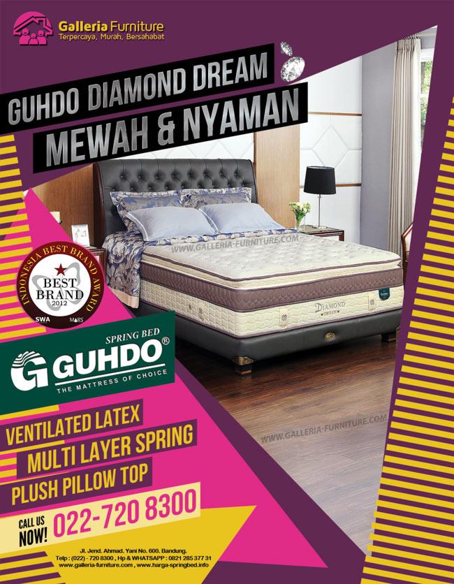 Gambar dan Harga Spring Bed Guhdo Diamond Dream