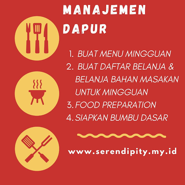 manajemen dapur