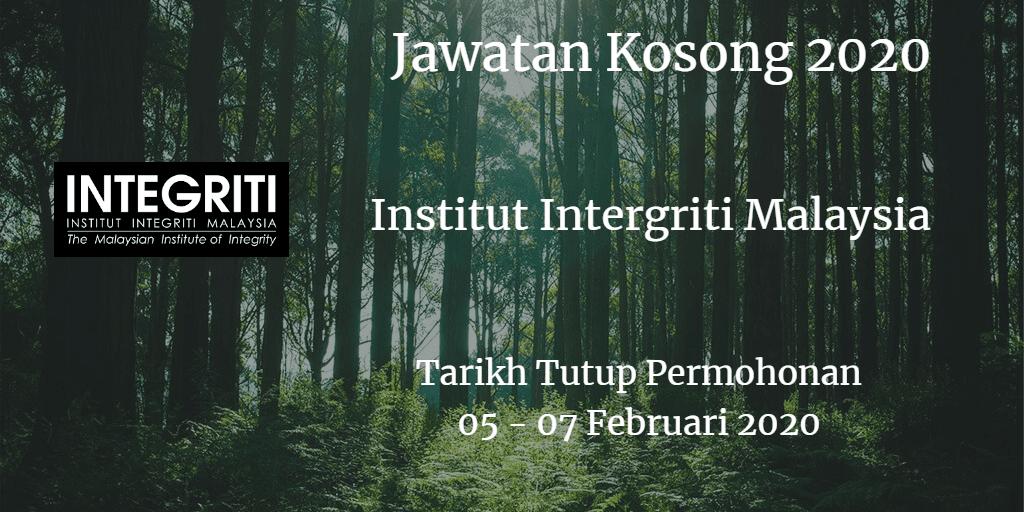 Jawatan Kosong IIM 05 - 07 Februari 2020