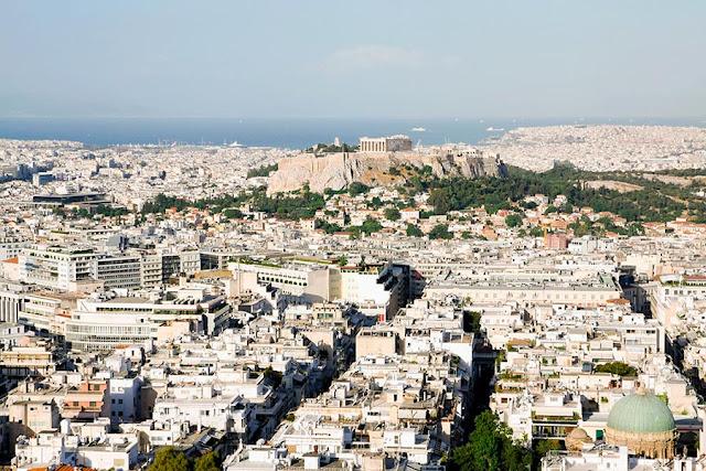 Yunanistan'ın başkenti Atina'da gezilecek yerler