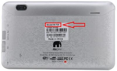 Mione M709 Flash File