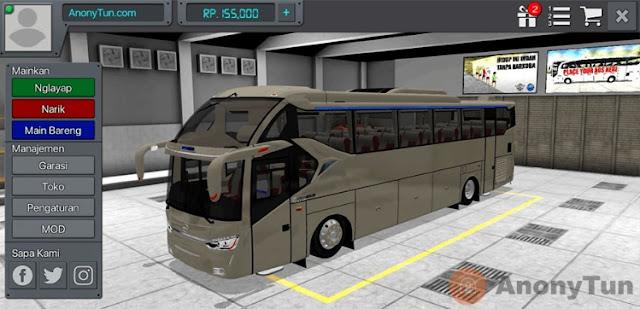 MOD BUSSID SR2 ECE R66 Hino Standart