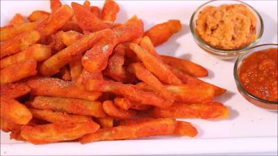 Potato french fries recipe at home in hindi-आलू के फ्रेंच फ्राइज,कुरकुरे फ्रेंच फ्राइज रेसिपी