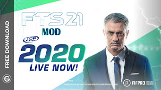 Download FTS 21 MOD Top Eleven 2021 Edition Android Offline Best High Graphics