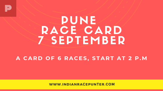 Pune Race Card, free indian horse racing tips, trackeagle,racingpulse