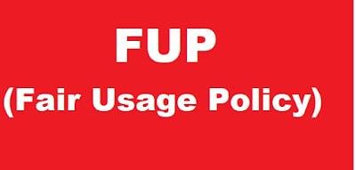 kusus paket internet unlimited maka akan sering melihat adanya informasi FUP sebagai syar apa Yang Dimaksud FUP Dalam Paket Internet Unlimited