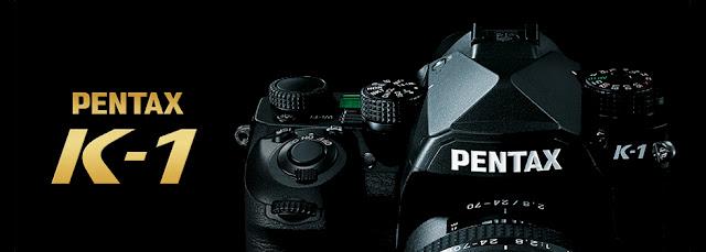 Banner della reflex full frame Pentax K-1