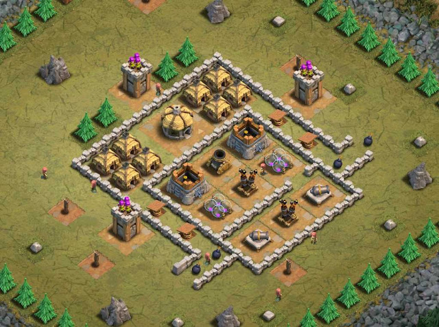 Goblin Base Clash of Clans Gobbo Campus
