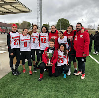 FLAG FOOTBALL - La primera Liga Madrileña femenina es para Madrid Capitals