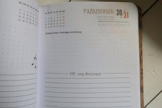 Kalendarz szkolny Interdruk z Biedronki 2021/2022