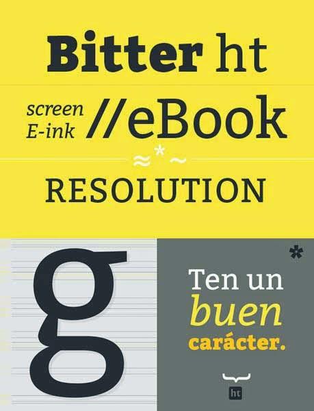 Bitter Ht font