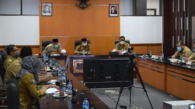 Bupati Sukiman Evaluasi Program Vaksinasi di Lombok Timur