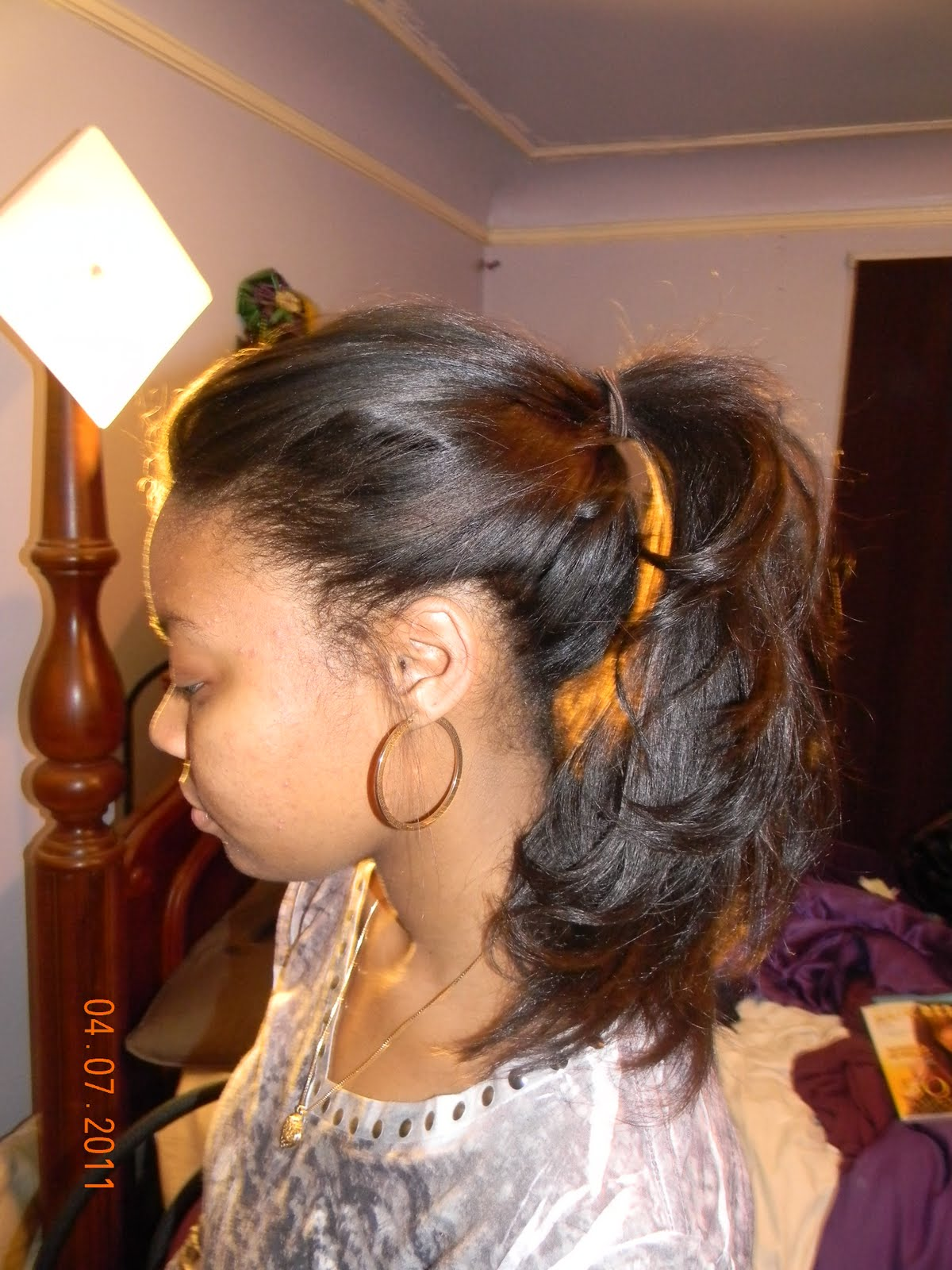 Sew-ins are all about a good blend. #NaturalGirlsRock # ...  Hair Nets For Sew Ins